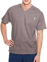 Champion Short-Sleeve Jersey V-Neck Tee