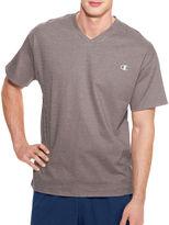 Champion Short-Sleeve Jersey V-Neck Tee
