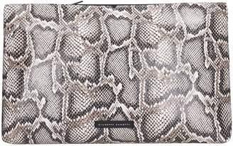 Giuseppe Zanotti V Kym Clutch In Animalier Leather