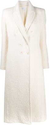 Patrizia Pepe Double-Breasted Fitted Coat
