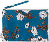 Cath Kidston Crescent Rose Large Pouch with wrist strap