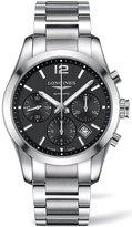 Longines Conquest Classic L27864566 41mm Silver Steel Bracelet & Case Synthetic Sapphire Men's Watch