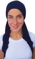 Uptown Girl Headwear Pre Tied Head Scarf Fitted Bandana Tichel