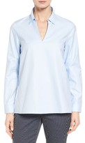 Nordstrom Women's Popover Oxford High/low Shirt