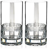Rogaska Fan Club Highball Glass, Set of 2