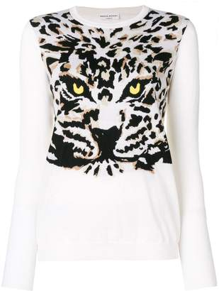 Sonia Rykiel Tiger knit jumper