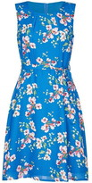 Yumi Spring Flower Print Skater Dress