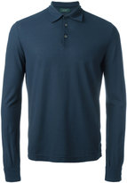 Zanone longsleeved polo shirt - men - Cotton - 50