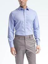 Banana Republic Grant-Fit Cotton Stretch Non-Iron Stripe Shirt