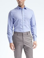 Banana Republic Grant-Fit Non-Iron Stretch Solid Shirt
