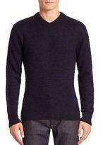 Acne Studios V-Neck Long Sleeve Pullover