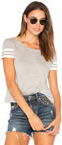 Generation Love Ingrid Rib Tee in Gray. - size L (also in M,S,XS)