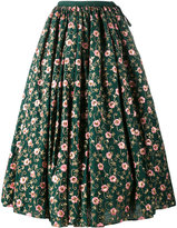 Ashish floral embroidered skirt - women - Cotton - S