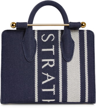 Strathberry Nano Denim Tote