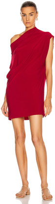Norma Kamali Sleeveless All In One Dress in Red | FWRD