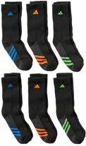 adidas Boys 8-20 ClimaLite Crew Socks