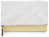 AUGUST Handbags - The Ravello - White Leaf