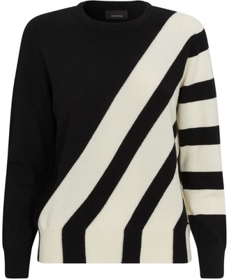 Akris Cashmere Stripe Sweater