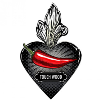 Miho Unexpected Things - Exvoto Touch Wood Decorative Heart