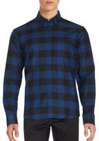 Raleigh Denim Cotton Plaid Shirt
