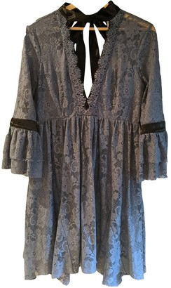 Free People Blue Lace Dress for Women