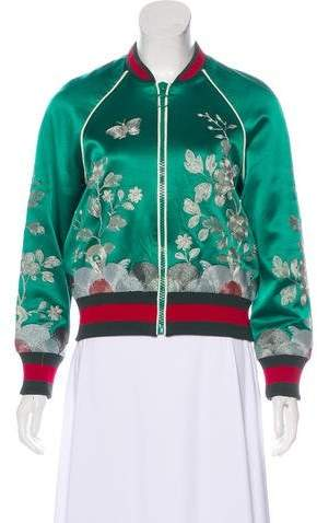 ed136a09bb4 Silk Bomber Jacket Women - ShopStyle Australia