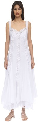 Charo Ruiz Ibiza Corazon Cotton Maxi Dress