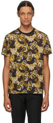 Versace Black Baroque Logo T-Shirt