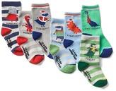 Gap Festive dino days-of-the-week socks (7-pack)