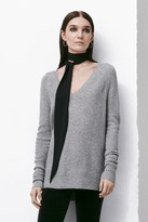 J Brand Bache Sweater in Medium Grey