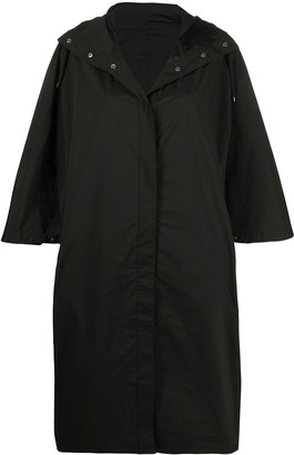 Yves Salomon Hooded Rain Coat