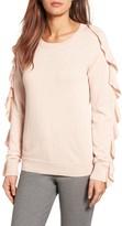 Women's Halogen Ruffle Sleeve Sweater