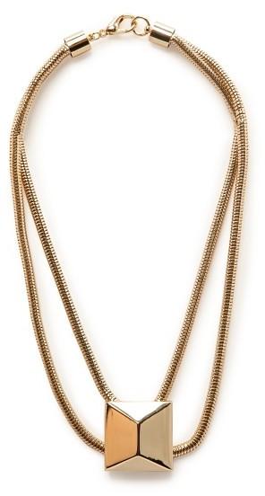 MANGO Outlet Xl Stud Necklace