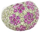 Ring Floral Gemstone