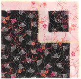 Valentino Garavani Valentino printed scarf - women - Silk/Cashmere/Wool - One Size