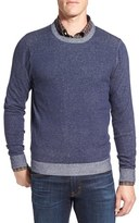 Nordstrom Men's Plaited Cotton Crewneck Sweater