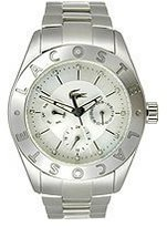Lacoste Women's Biarritz Multifunction Watch 2000761 Stainless Steel/Mother-of-Pearl Watch