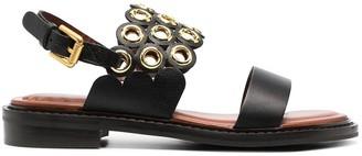 See by Chloe Steffi ring sandals