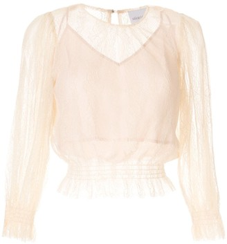 Alice McCall Harvest Moon ruched blouse