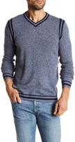 Autumn Cashmere Colorblock V-Neck Cashmere Sweater