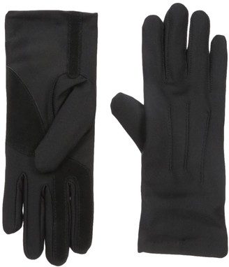 Isotoner Womens Stretch Classics Fleece Lined Gloves