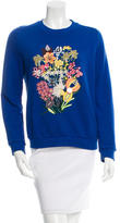 Mary Katrantzou Embellished Floral Sweater