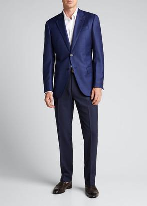 Emporio Armani Men's Box Wool Sport Jacket