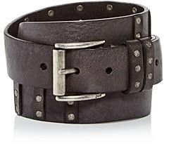 John Varvatos Men's Studded Leather Belt