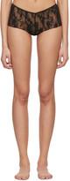 Wolford Black Katharina Boy Shorts