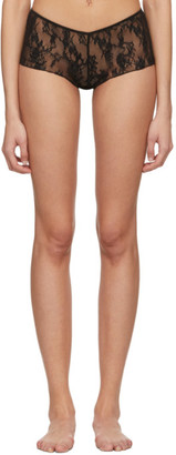 Wolford Black Katharina Boy Shorts