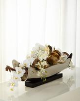 John-Richard Collection Silver & Gold Floral Arrangement