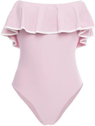 Marysia Swim Ruffled Swimsuit
