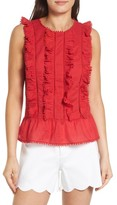 Draper James Women's Rosie Ruffle Top