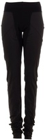 Ruched tapered leggings